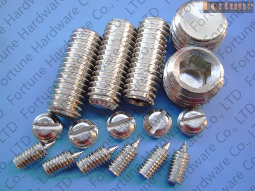 Stainless Steel Hexagon Socket Set Screws
